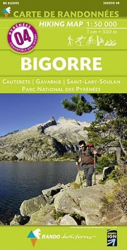 Walking Maps of The Pyrenees